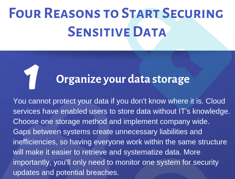 secure your data-feature